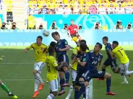 Osako saltó más que nadie e hizo el segundo de Japón. Cuatro