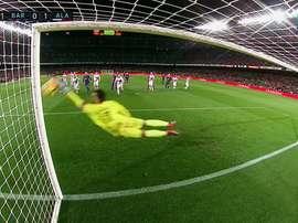 Quel arrêt de Pacheco qui vient écœurer Messi. MovistarPartidazo