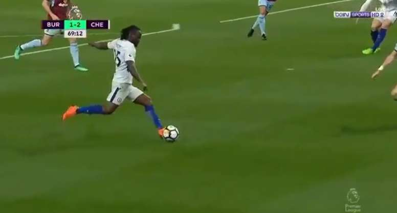 Victor Moses décisif. beINSports