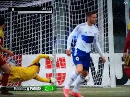 ¿Gol de Fulanito a pase de Pablito para empatar a dos el partido? . Movistar+