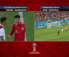 Un moment crucial de cette Coupe du monde. Telecinco