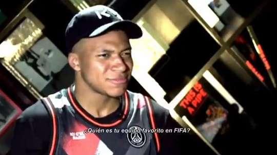 Mbappé parle de FIFA. Capture/ESPN