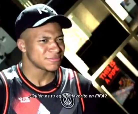 Mbappe says Pele was the king of football before 1980. Captura/ESPN