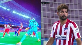 L'autogol di Diego Costa. Movistar