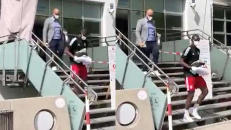 Kouassi will sign for Bayern. Twitter/BILD_Bayern