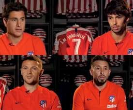 Comment le derby est-il perçu par les joueurs de l'Atlético Madrid ? Captures/Atleti
