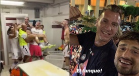 El Crotone de Maxi López logró el ascenso a la Serie A. Capturas/Instagram