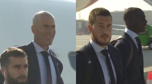 They have arrived. Screenshots/RealMadrid