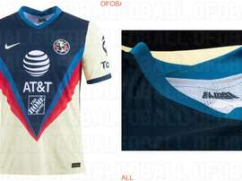 The Club América top has been leaked. Screenshot/Ofoball