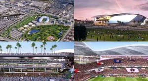 O tecnológico estádio do Inter Miami, time de Beckham. Instagram/DavidBeckham