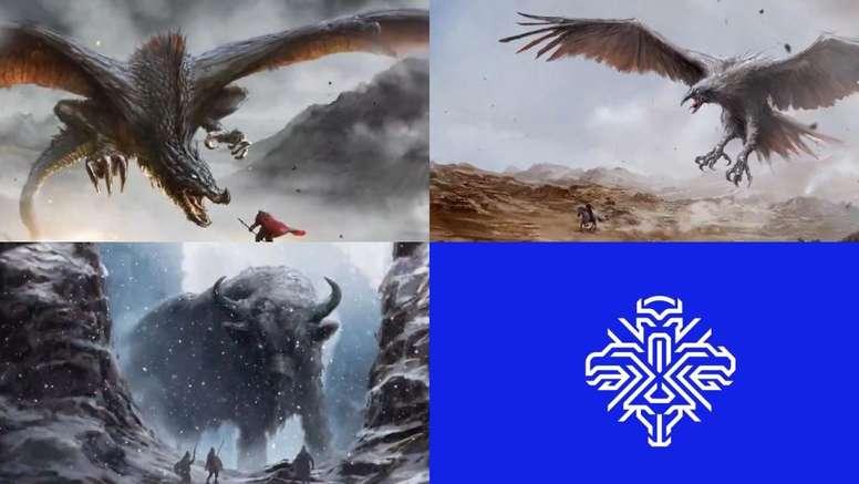 Islandia presentó su nuevo escudo con animales mitológicos. Twitter/footballiceland