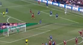 Del 2-1 al enfado de Mané, pasando por el penalti y empate de Jorginho. Capturas/Movistar+