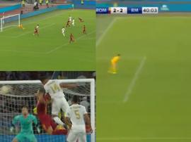 Tre goal in cinque minuti. Captura/RMTV