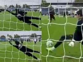 Thibaut Courtois, portiere del Belgio e del Real Madrid. IG/Courtois