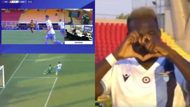 Caicedo firma il goal del vantaggio. Movistar