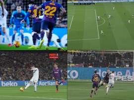 Le Camp Nou réclamait une faute sur Messi. Capture/beINSports