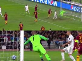 Le but de Bale. Capture/Movistar