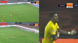 Paulinho volvió a marcar. Captura/ASTV