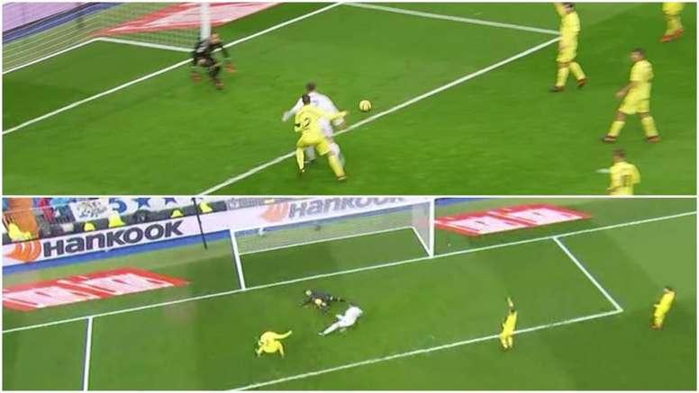 Cristiano reclamó penalti. BeSoccer