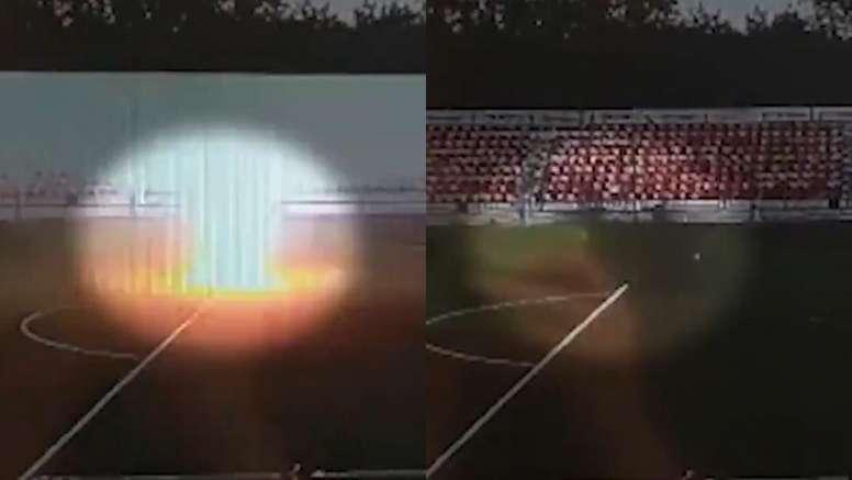 En coma un jugador de 16 años tras caerle un rayo encima. Captura/BAZA