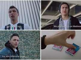 A Juve fez um video para motivar os adeptos. Capturas/Juventus