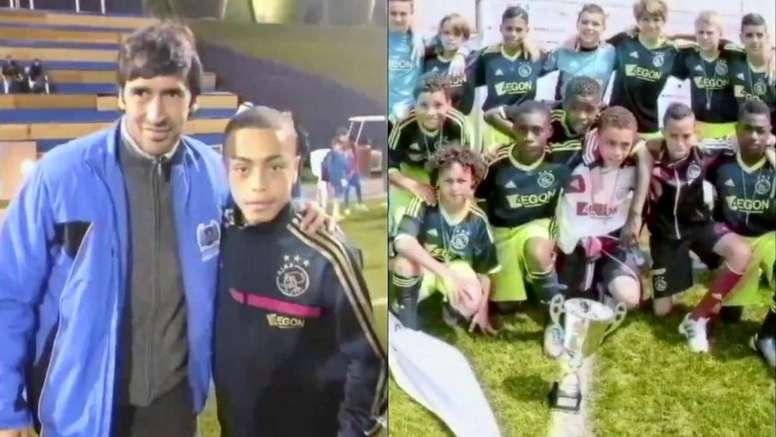 Dest se despidió del Ajax. Capturas/Twitter/sergino_dest