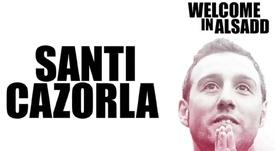 OFFICIEL : Santi Cazorla rejoint l'Al Sadd de Xavi. Twitter/AlSaddSC
