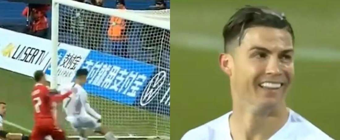 Dubbi sul goal di Ronaldo. Cuatro