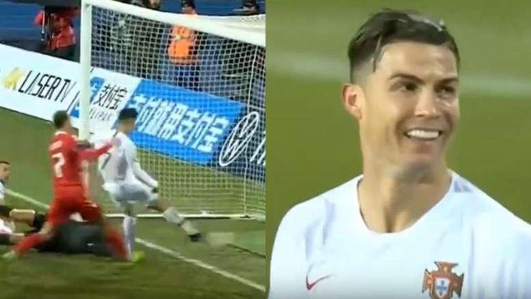 Otra incógnita con un tanto de Cristiano: ¿llegó el gol 99º? Capturas/Cuatro