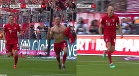 La joie des héros du Bayern. FOXSports
