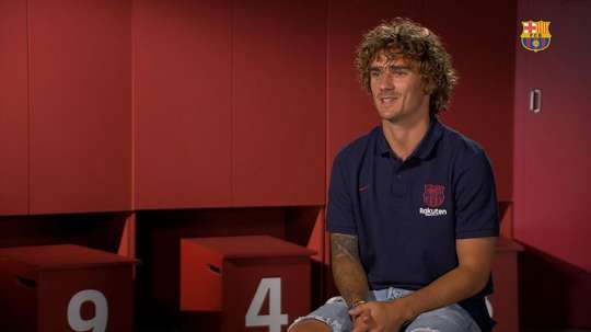Griezmann did not want to set himself any targets in interview with Barcelona. FCBarcelona