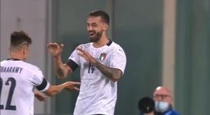 He scored on debut. EFE