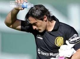 Caranta defenderá la portería de Talleres esta temporada. Twitter