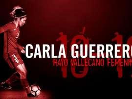 Carla Guerrero ya es del Rayo Vallecano. Rayo