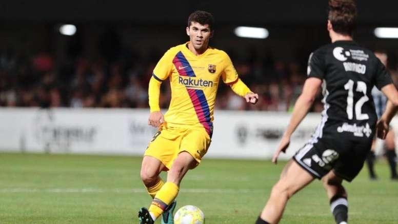 Barcelona, disposto a emprestar Aleña ao Getafe. FCBarcelona