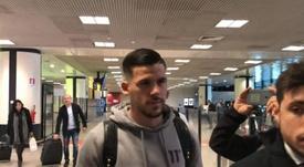 Carles Perez est arrivé à Rome. Captura/PagineRomaniste