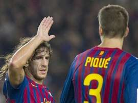 Puyol was full of praise for Pique. EFE