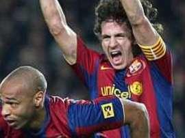 Quase 10 anos da última eliminação do Barça. EFE/Archivo