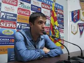 Carles Salvador ha reconocido que las últimas derrotas han dejado tocado al equipo. CDAlcoyano