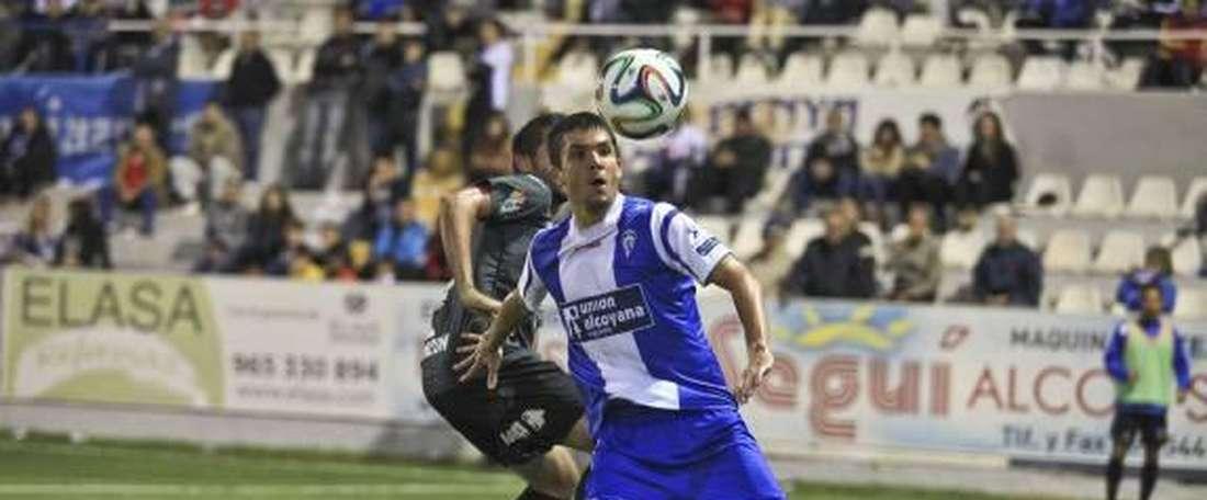 Carles Salvador jugará la próxima temporada en la UD Logroñés. DiarioInformación