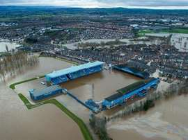 Carlisle United's stadium has been hit by serious flooding. Everton FC