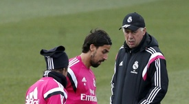 Ancelotti would work with Khedira again. EFE