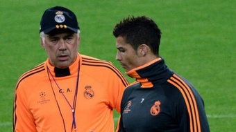Ancelotti ruled out Cristiano's return to Real Madrid. AFP