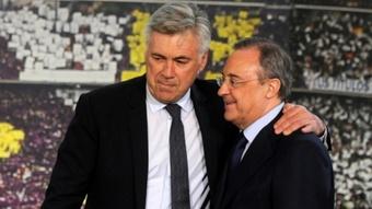 Ancelotti exige le départ de cinq joueurs. AFP