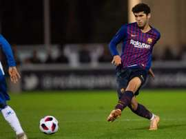 Sufrió el Barcelona B. Twitter/FCBarcelonaB