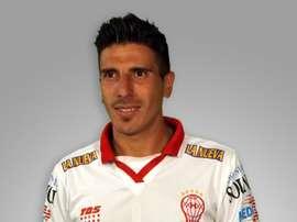 Carlos Arano, nuevo jugador del Barracas Central, cuando militaba en el Huracán. Twitter