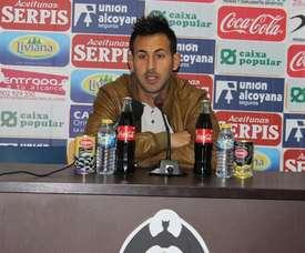 Carlos Barreda pidió a los suyos reaccionar y levantarse tras la derrota. RadioAlcoy