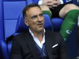 Carvalhal says he is happy with his summer signings. AFP
