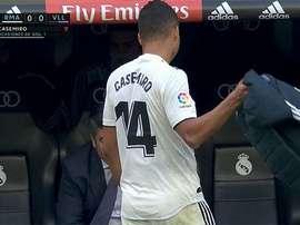 Carlos Casemiro 2018-19. Captura/beINSports