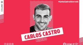El Mallorca cede a Carlos Castro al Lugo. CDLugo
